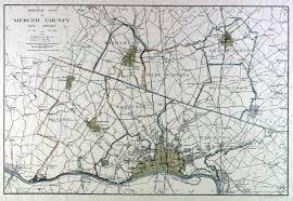 Mercer University Map Historical Mercer County New Jersey Maps