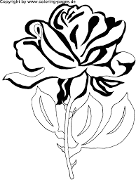 coloring pictures of flowers
