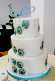 Peacock Themed Wedding 3 Tier Peacock Theme Wedding Cake Lankaeshop Com Sri Lanka