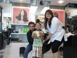 haircut for childrens enrich salon
