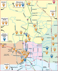 Garden Of The Gods Map Colorado Springs Craft Beer Spirits And Wine Producers Map