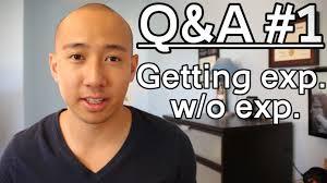 Jobs With No Resume by Q U0026a 1 How To Get A Job With No Experience Youtube