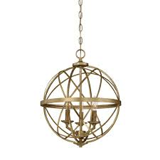 gold pendant light fixture lakewood collection 3 light vintage gold sphere pendant 2283 vg