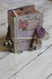 Shabby Chic Wedding Guest Book by 12 Best Hand Made Photo Albums Images On Pinterest Wedding Guest