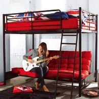 chambre ado mezzanine lit mezzanine pour adolescent en promotion meubles idées déco et