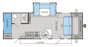 triple bunk travel trailer floor plans 2015 jay flight floorplans prices jayco inc