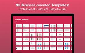 Business Templates For Pages App Shopper Business Templates For Pages Keynote Numbers
