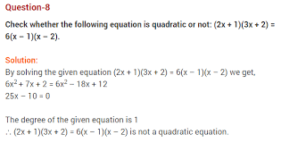 quadratic equations cbse class 10 extra questions with solutions