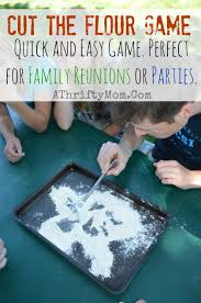 ideas for family reunions or summer