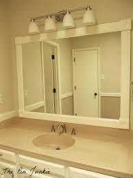 bathroom mirrors cheap stunning framing bathroom mirror by gold vanity mirror large framed