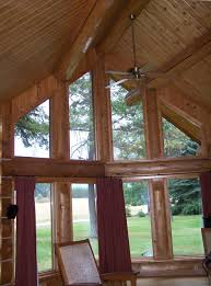 Angled Ceiling Fan by Exterior Design Sloped Ceiling With Ceiling Beams For Rustic