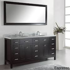 virtu usa caroline parkway 72 inch sink bathroom vanity set