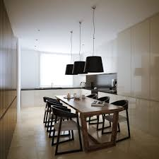 Black And Cream Dining Room - designs by style 3 white cream livining room modern minimalist