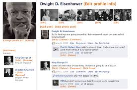 facebook template history tech