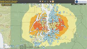 Washington State Earthquake Map by Finding Faults U2014 And The Potential Dangers They Pose U2013 Ear To The