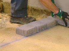 Building A Patio by Building A Paver Patio How Tos Diy