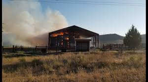 Barn Fires Cause Found For Hay Barn Fire North Of Prineville Ktvz