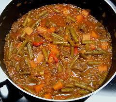 bulgarische küche bulgarische grüne bohnen mit fleisch rezept mit bild chefkoch de