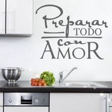 Wall Stickers For Kitchen by Popular Spanish Wall Decals Buy Cheap Spanish Wall Decals Lots