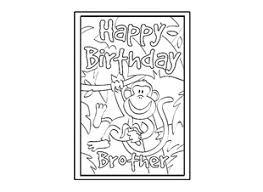 Brother Design Cards Birthday Card Design Template Happy Birthday Brother Ichild