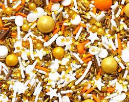 edible artisan sprinkles by fancysprinklesshop on etsy