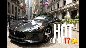 new maserati granturismo the new 2018 maserati granturismo or not youtube