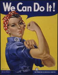halloween background ww2 we can do it rosie the riveter world digital library