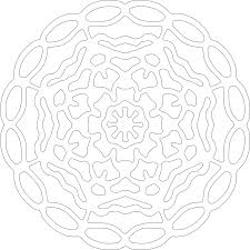 free kids mandala coloring pages