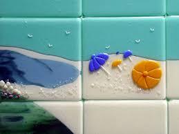 themed fused glass tiles nantucket designer glass