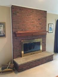 mantel surround with granite hearth monk u0027s home improvements in nj