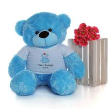 get well soon teddy 4ft size personalized get well soon teddy bears choose your