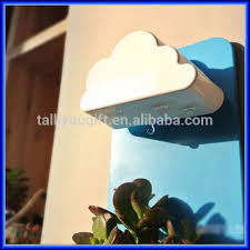 creative wall type office pot plant hanging pot rain clouds the