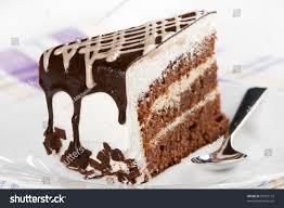piece cake on white plate stock photo 82797172 shutterstock