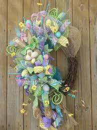 Easter Decorations Etsy by 455 Best Wreaths Spring U0026 Summer Images On Pinterest Summer