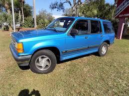 Ford Explorer Blue - 94 ford explorer xl low 86k florida miles clean rust free original