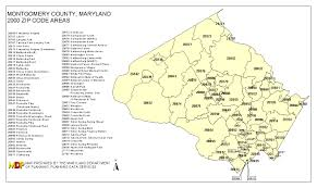 Zip Code By Map Investigation Of Cancer Concerns In Poolesville Maryland