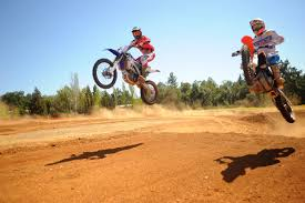how to jump a motocross bike motocross track pumps its brakes