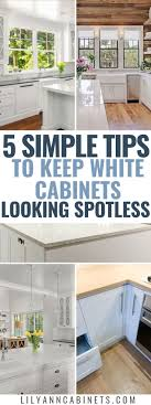 how to clean your white kitchen cabinets how to keep your white kitchen cabinets spotless clean
