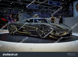 koenigsegg geneva geneva switzerland march 8 2017 2017 stock photo 658213471