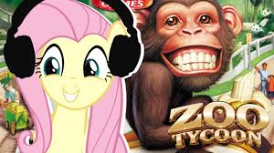 Bored At Home Create Your Own Zoo Fluttershy Plays Zoo Tycoon It U0027s My Zoo Now Yay Youtube