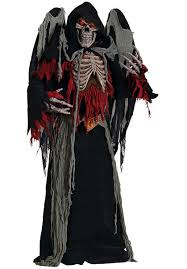 winged reaper costume with light up eyes escapade uk
