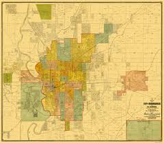 Zip Code Map Indianapolis by Old City Map Indianapolis Indiana Landowner 1889