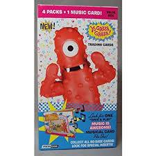 amazon yo gabba gabba trading card box toys u0026 games