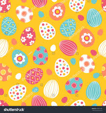 easter wrapping paper easter seamless pattern colorful eggs on stock vector 590561282