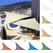 Triangle Awnings Canopies Uv Block Sun Shade Sail Garden Patio Triangle Awning Canopy