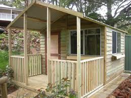 garden sheds with veranda interior design