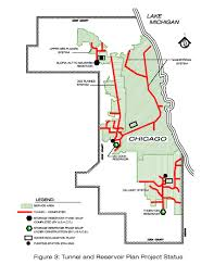 Chicago District Map by U S V Metropolitan Water Reclamation District Of Greater Chicago