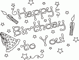 happy birthday mom coloring pages 522707 coloring pages for free