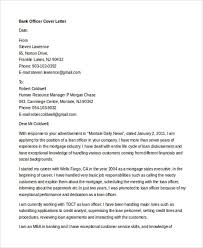 10 banking cover letter templates sample example free