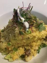 cuisine quinoa quinoa risotto picture of mapacho craft peruvian cuisine